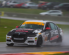 BimmerWorld Racing Dominates Road America's Rain-Shortened Race, Finishing Sixth