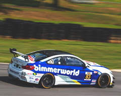 BimmerWorld No. 83 GT4 - BimmerWorld's Clay to Compete in Pirelli World Challenge At Road America This Weekend