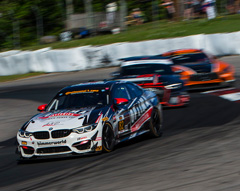 BimmerWorld M4 GT4 leading the pack