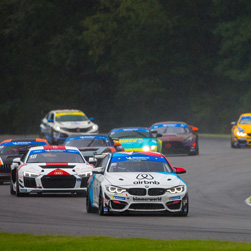 BimmerWorld Racing Captures Podium Finish at VIR in Unpredictable Race