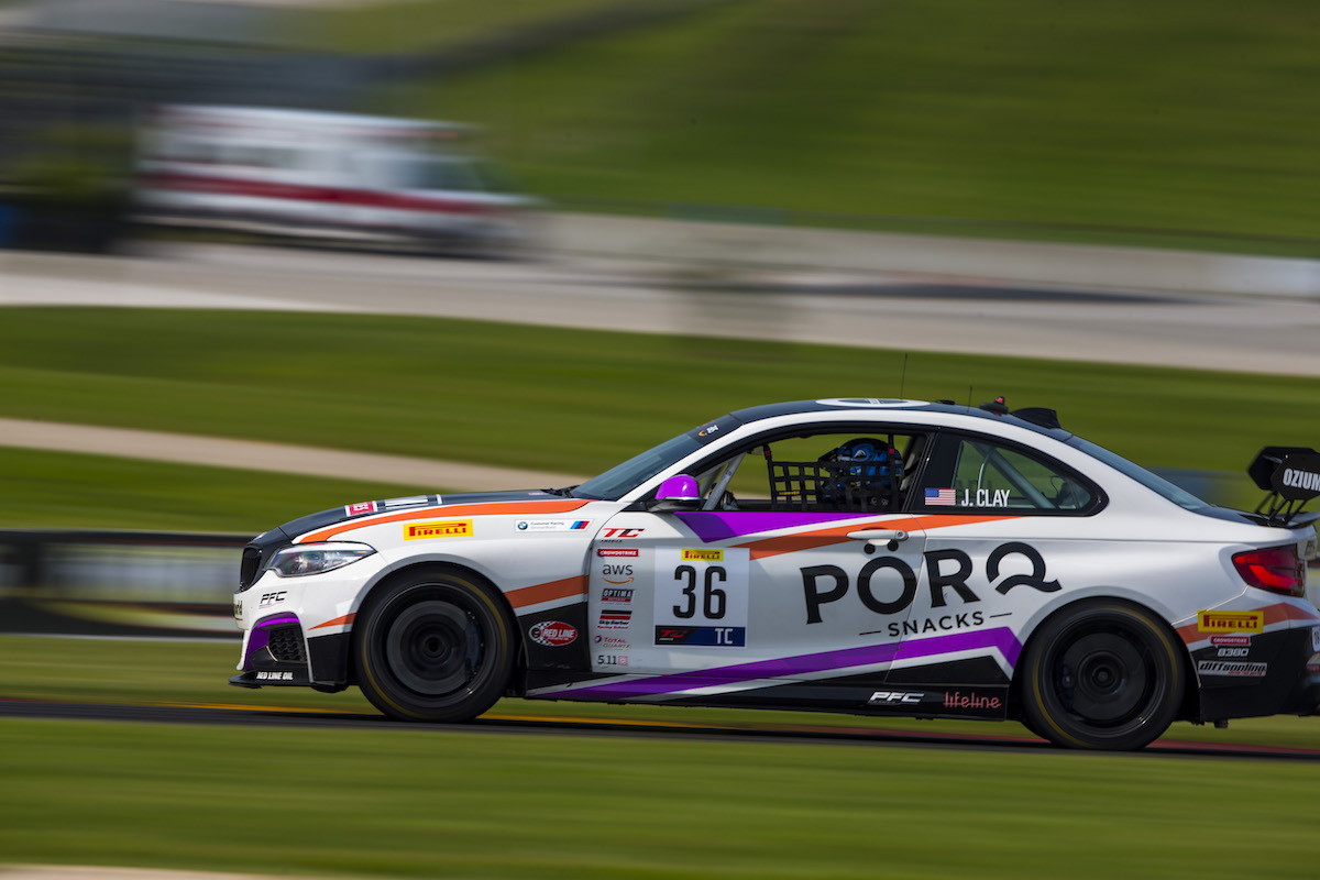James Clay in his No. 36 M240iR at Road America