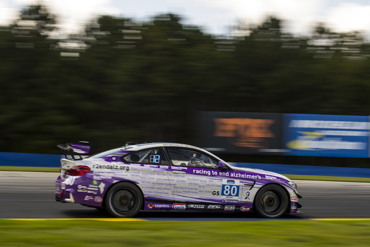 Racing to End Alzheimer's No. 80 at Road Atlanta