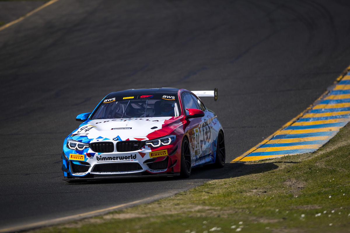 TAC Energy M4 GT4 at turn-in