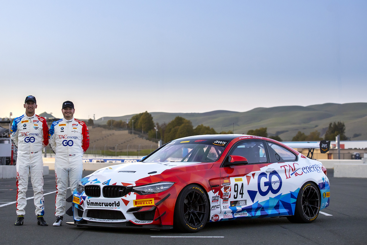 Miller and Hull with new-livery M4 GT4