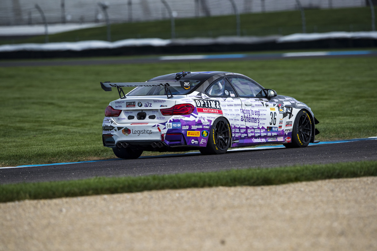 BimmerWorld Racing to End Alzheimer's M4 at Indy 2021
