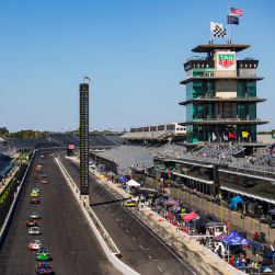 Indy front straight, 2021